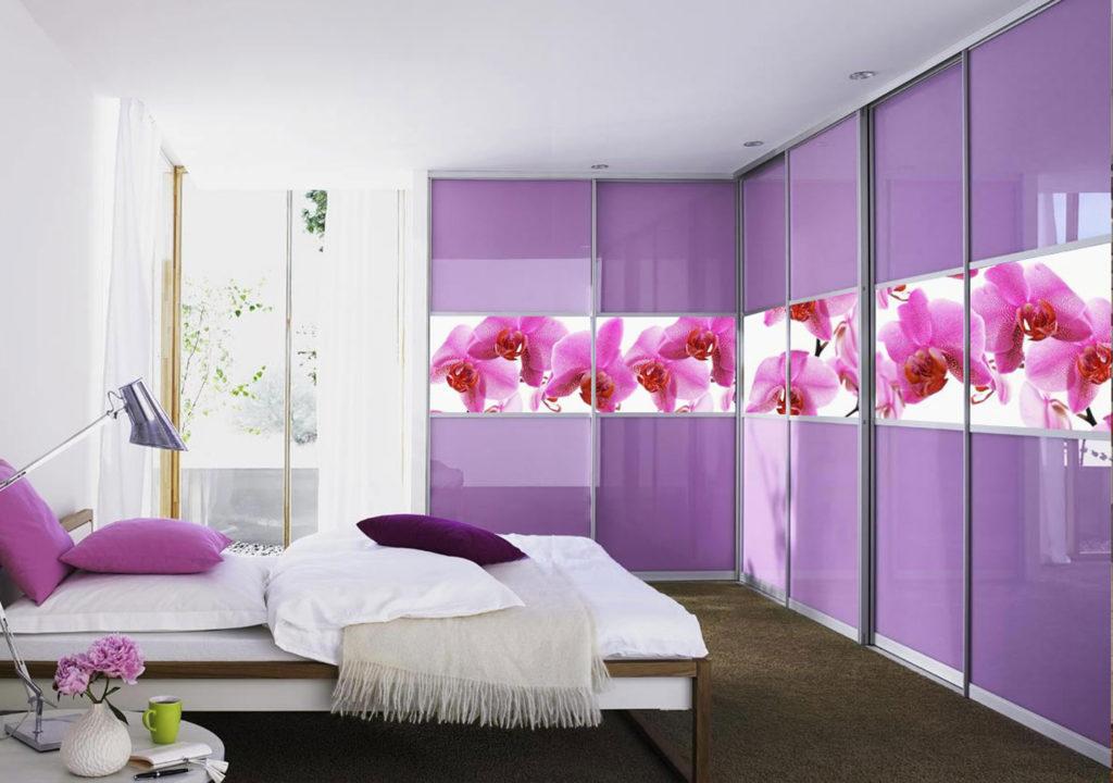 Шкаф - Орхидея