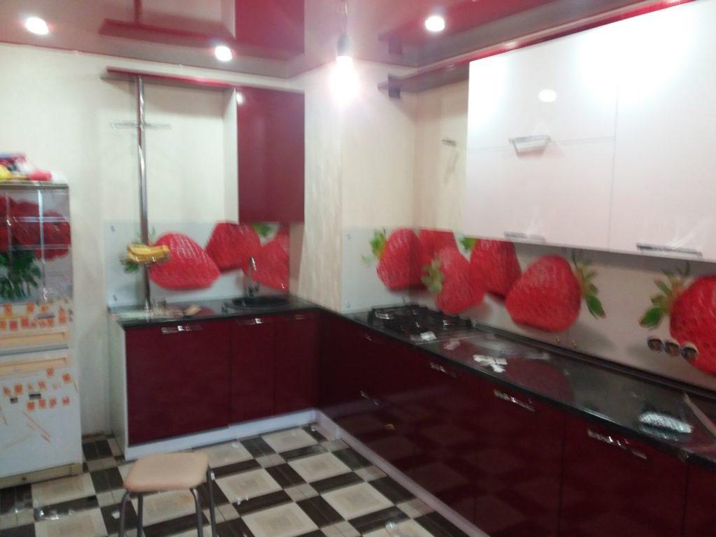 Наши работы - Кухня 17