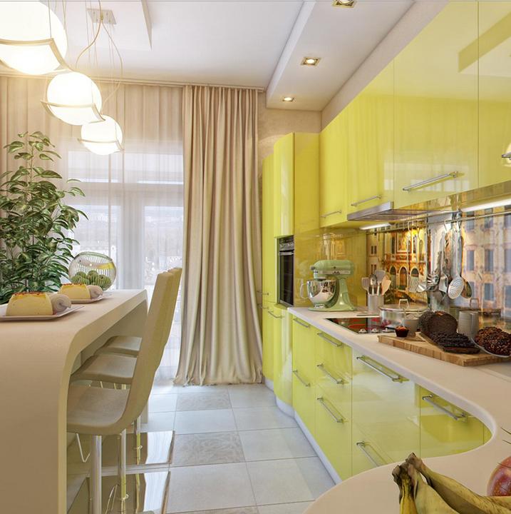 Кухня МДФ - МДФ 61