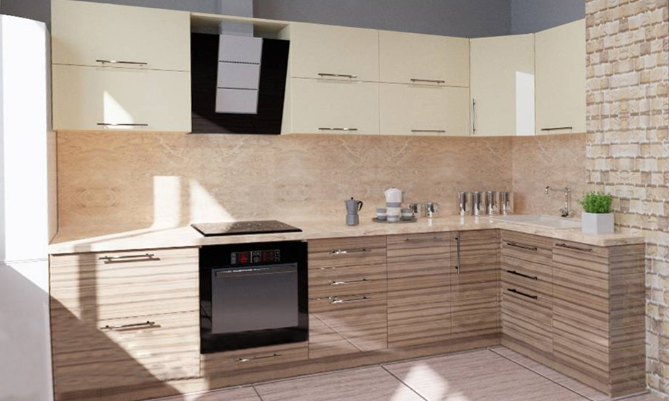 Кухня МДФ - МДФ 66