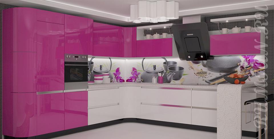 Кухня Пластик - Пластик 74